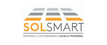 "An image of the Sol Smart logo with slogan that says ""Nationally Distinguished. Locally Powered."""