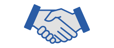 a handshake icon
