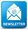 blue and white graphic of newsletter icon